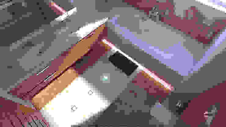 Санузел Ванная комната в стиле минимализм от Architoria 3D Минимализм