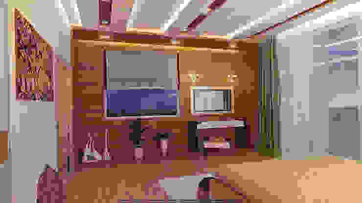 Спальня Спальня в стиле минимализм от Architoria 3D Минимализм