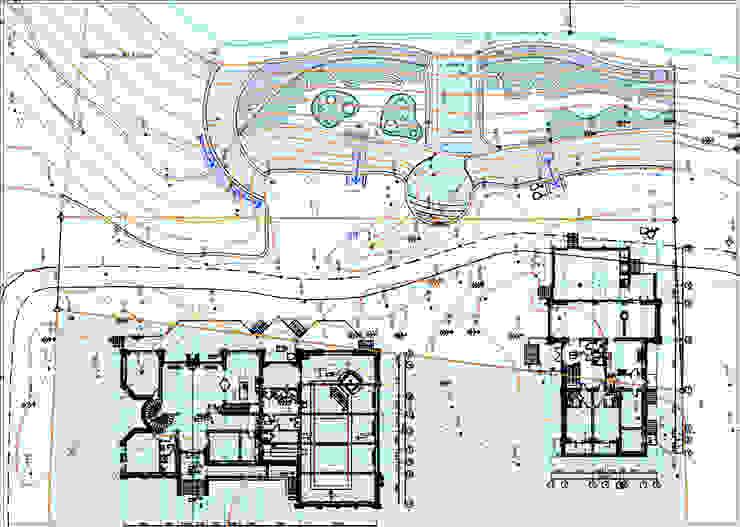 Генплан Дома в стиле минимализм от Architoria 3D Минимализм