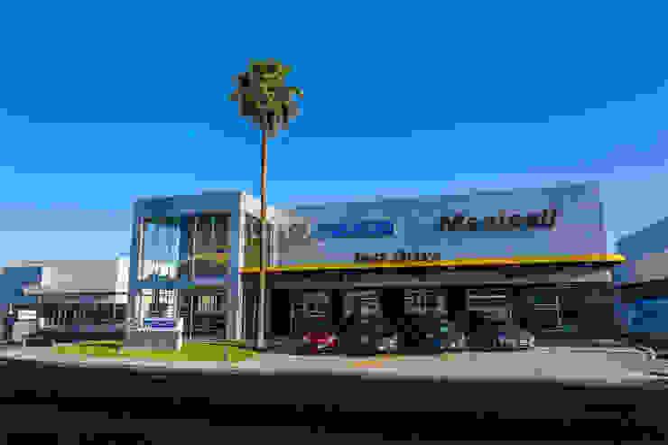 MAZDA MEXICALI,MEXICO de Grupo HEER arquitectura + contruccion Moderno