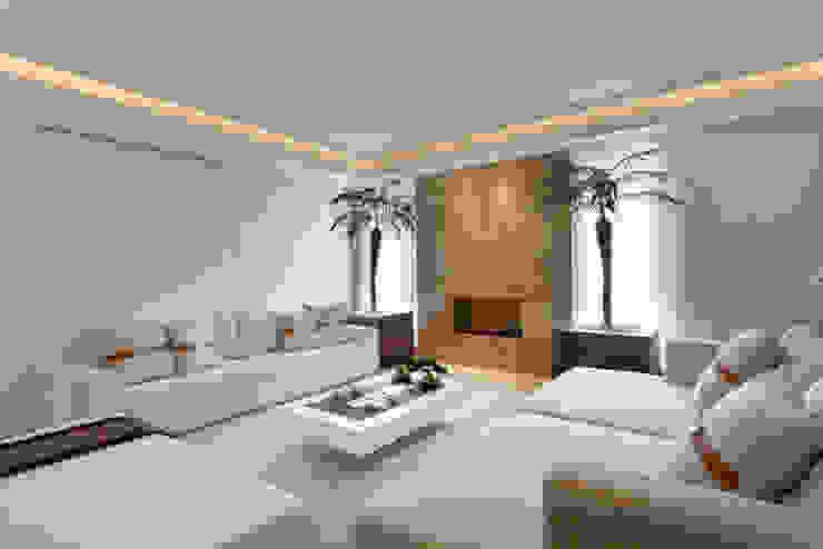 Casa Itu Salas de estar modernas por Designer de Interiores e Paisagista Iara Kílaris Moderno