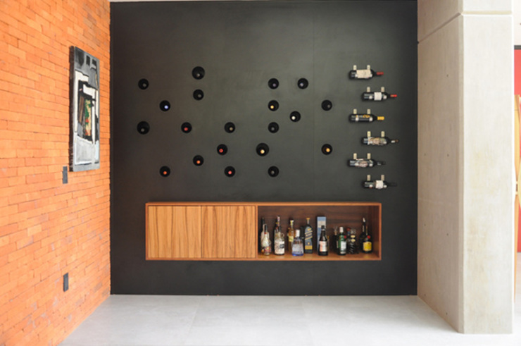 Salas de estilo  por Mediamadera,