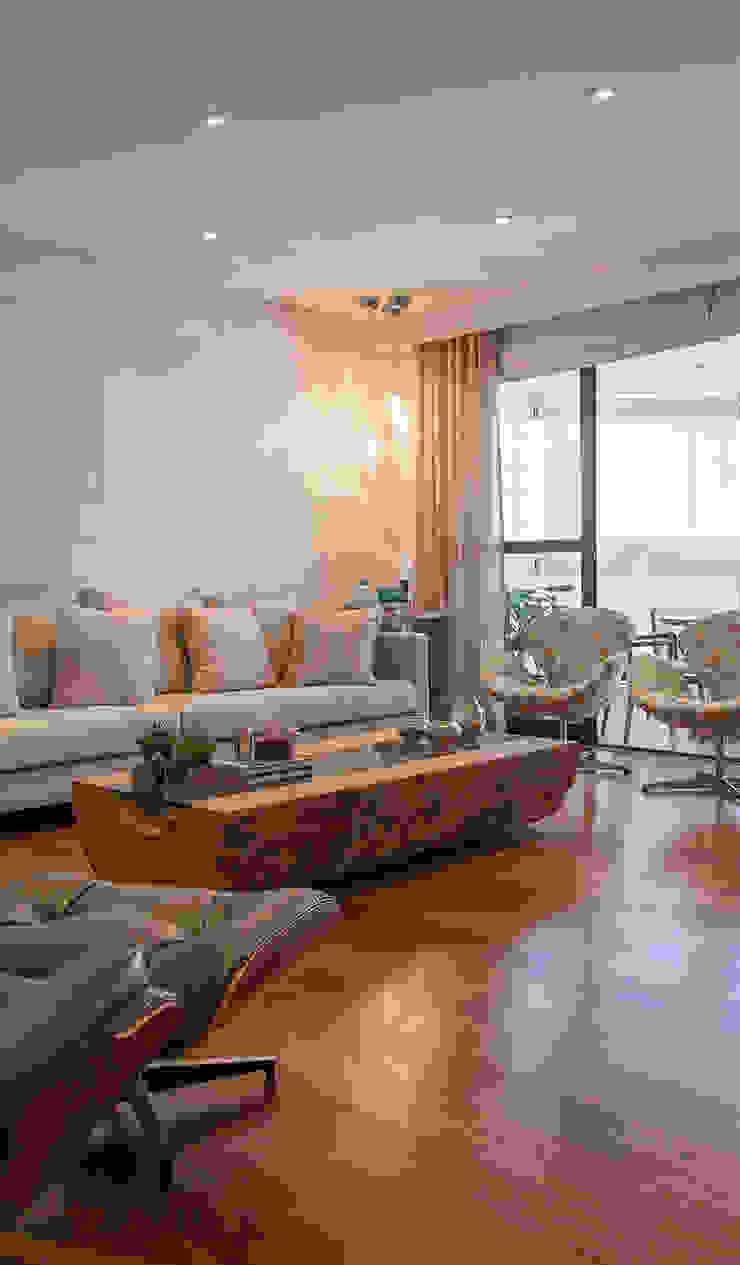 Salas de estilo clásico de Helô Marques Associados Clásico
