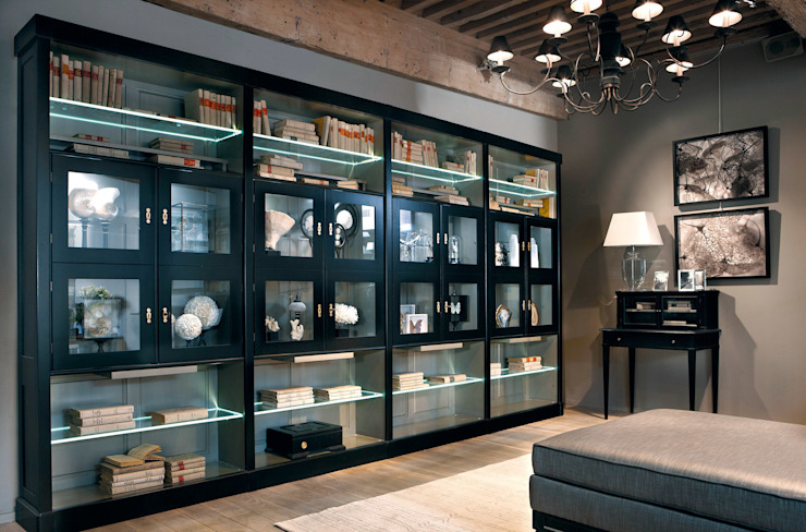 Grange México Oficinas y bibliotecas de estilo moderno