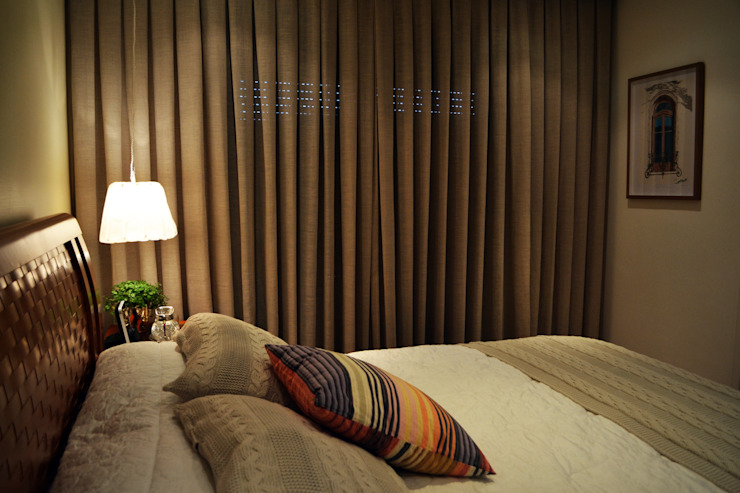 Bedroom by Helô Marques Associados
