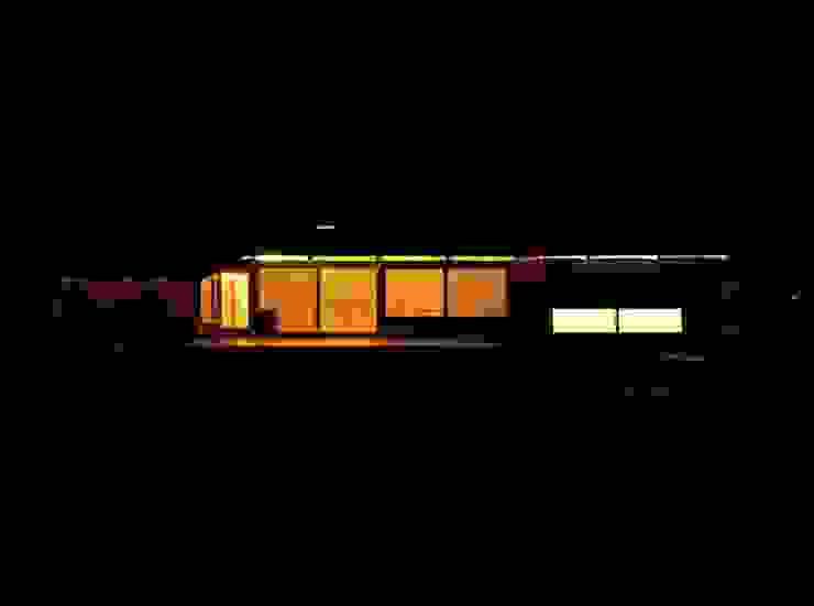 Me house オリジナルな 家 の ATELIER A+A オリジナル
