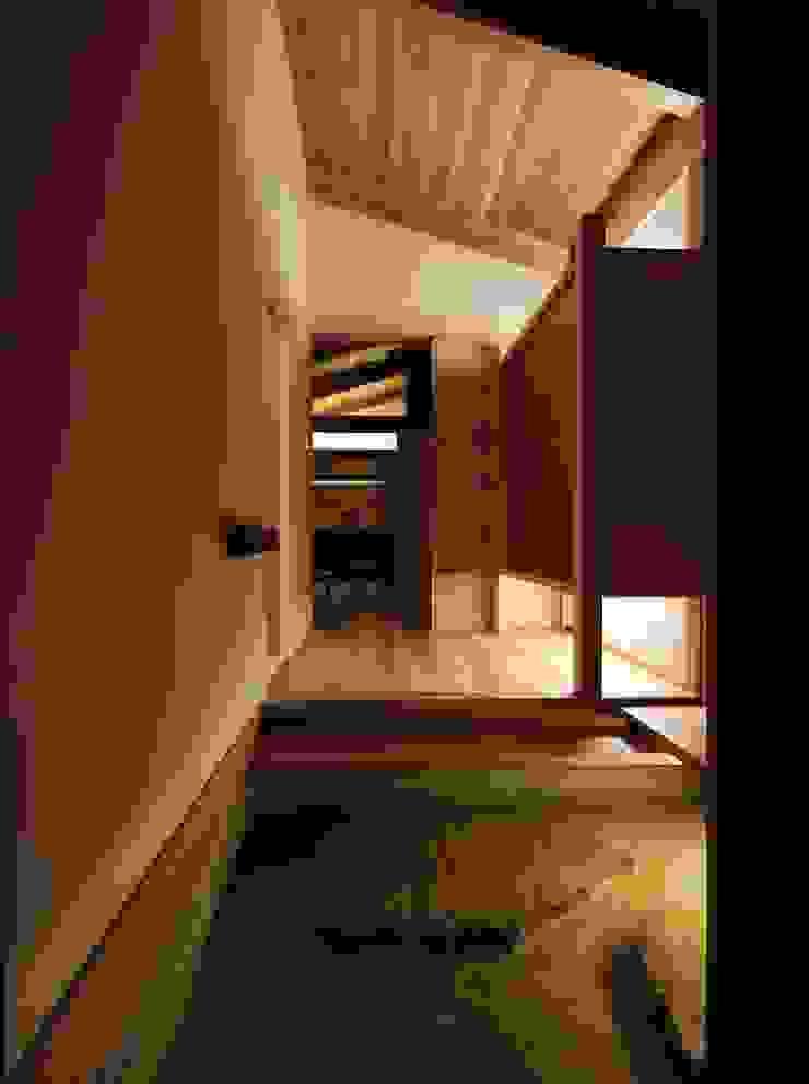 Me house オリジナルスタイルの 玄関&廊下&階段 の ATELIER A+A オリジナル