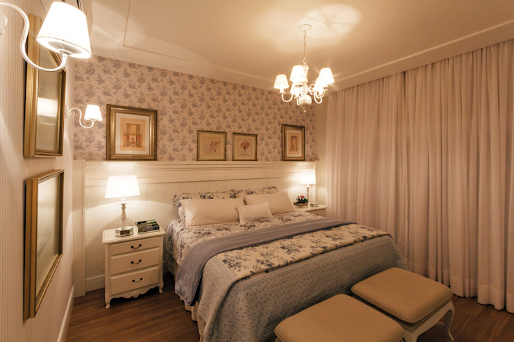 Dormitorios clásicos de Dani Santos Arquitetura Clásico
