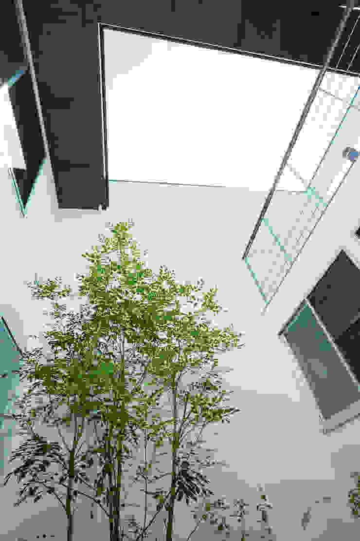 Jardines de estilo moderno de エトウゴウ建築設計室 Moderno