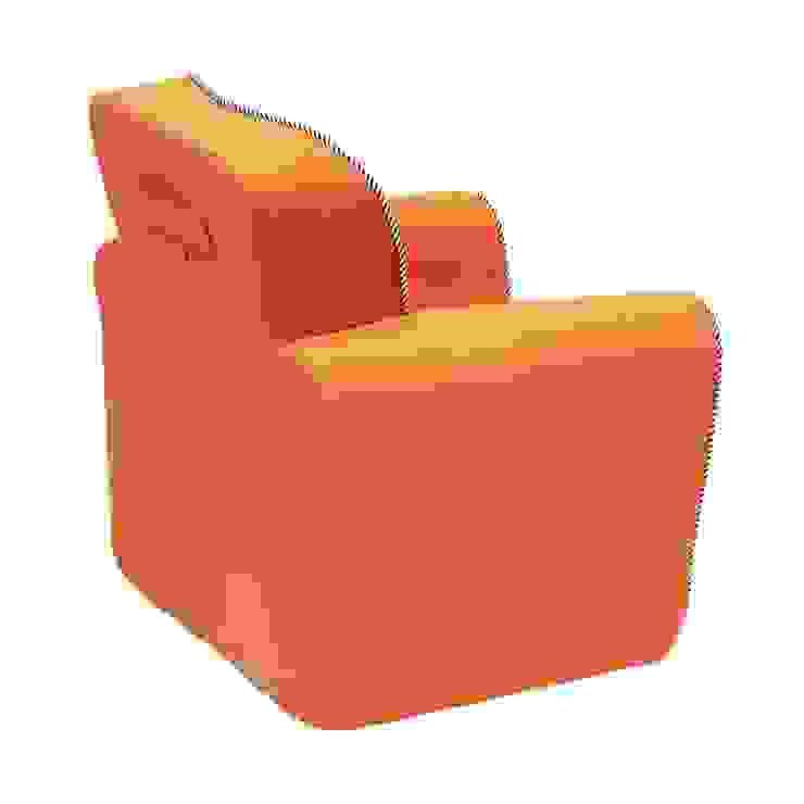Fotel Art Deco od Sponge Design Nowoczesny
