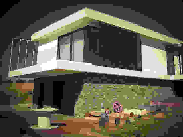 Habitação - Trancoso 3 Casas modernas por ARKIVO Moderno