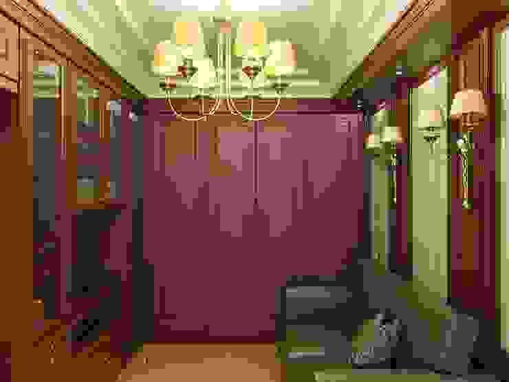 Дизайн интерьера кабинета в классическом стиле Рабочий кабинет в классическом стиле от Архитектурное Бюро 'Капитель' Классический