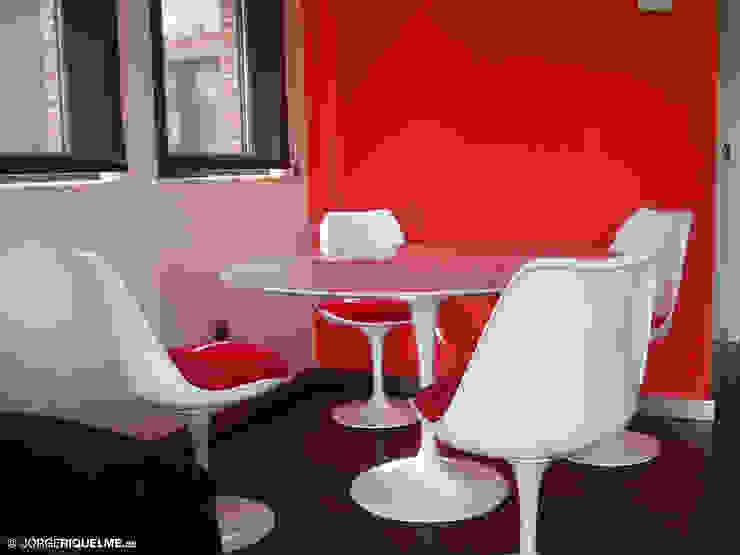 Dining room by JORGE RIQUELME | DISEÑO INTERIOR