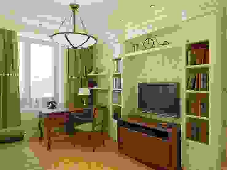 Дизайн интерьера детской комнаты для мальчика Детская комнатa в классическом стиле от Архитектурное Бюро 'Капитель' Классический