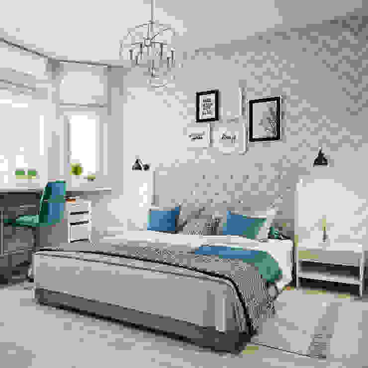 Спальня в скандинавском стиле Спальня в скандинавском стиле от Анна Теклюк Скандинавский