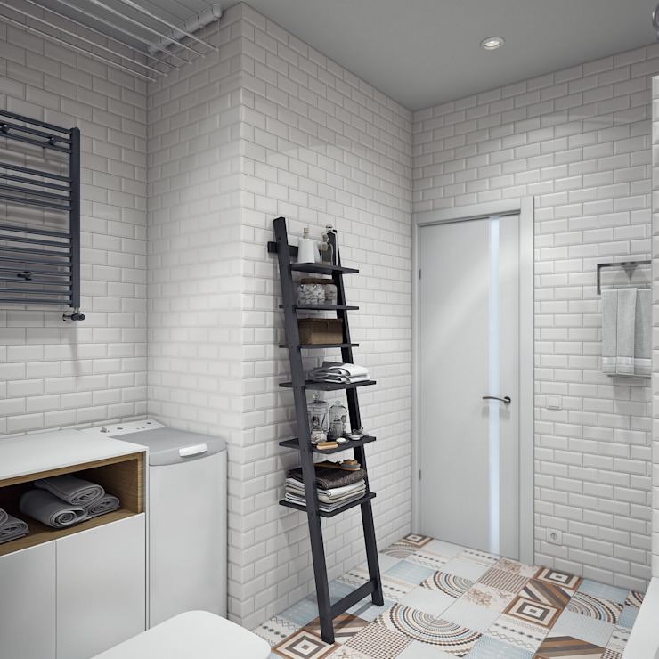 Scandinavian style bathroom by Анна Теклюк Scandinavian