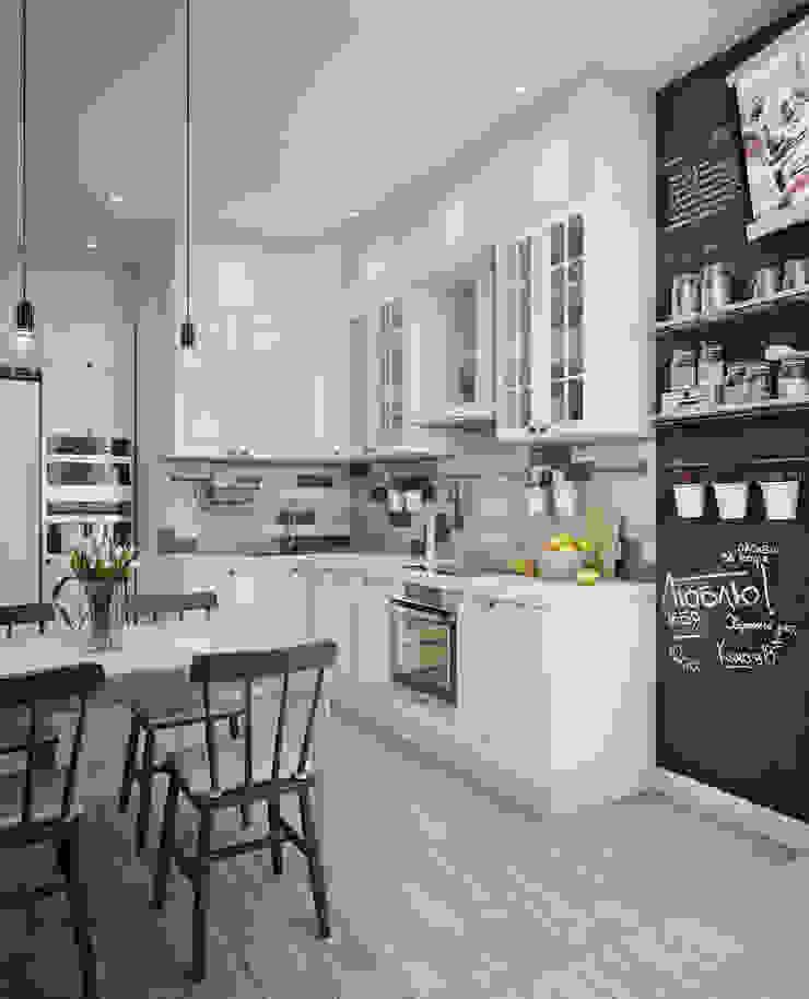 Кухня в скандинавском стиле Кухня в скандинавском стиле от Анна Теклюк Скандинавский