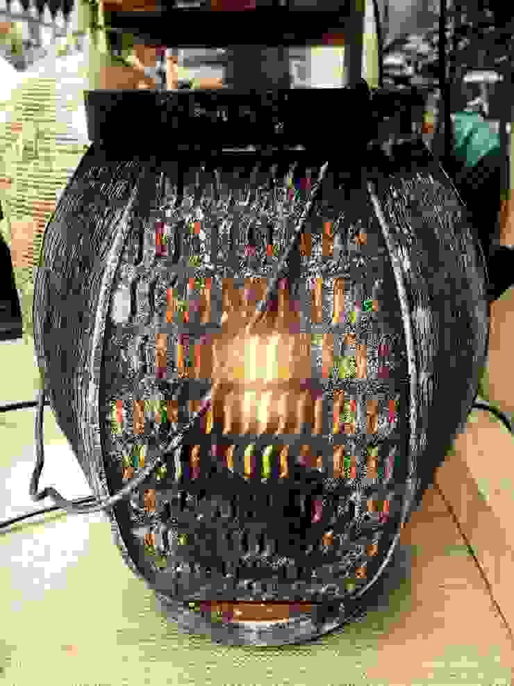 "Настольная лампа ""Фонарик"" от Eco Shining Home Лофт"
