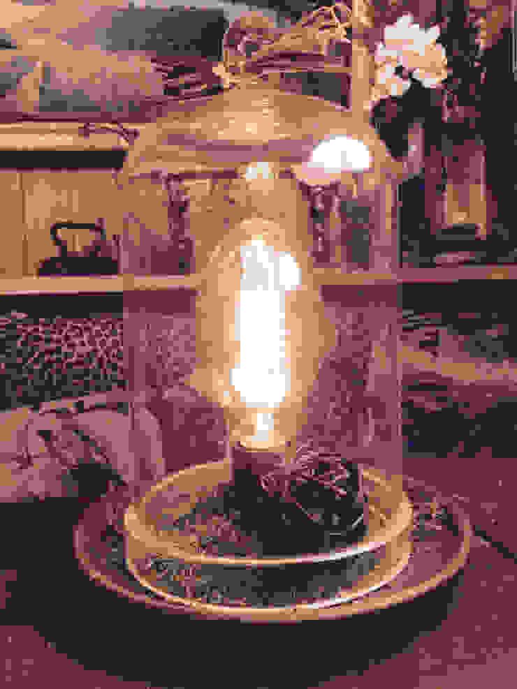 "Настольная лампа ""Botanical Garden"" от Eco Shining Home Кантри"