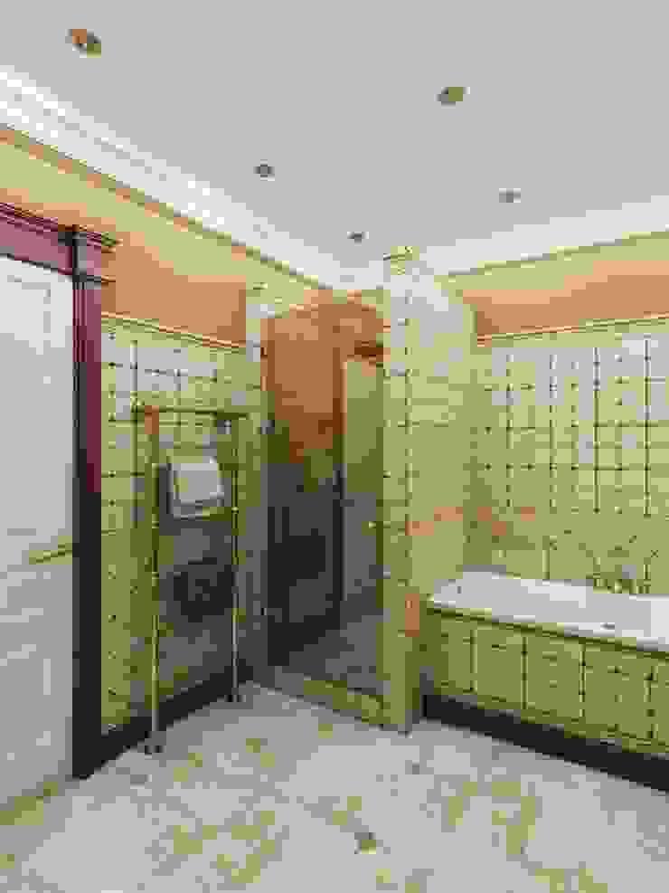 Дизайн интерьера ванной комнаты Ванная в классическом стиле от Архитектурное Бюро 'Капитель' Классический