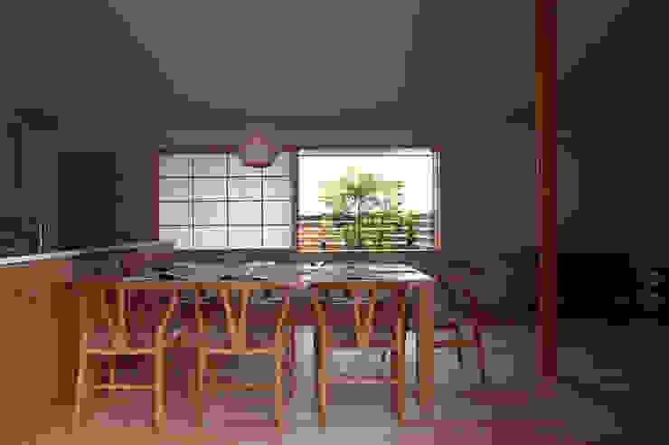 Ruang Makan Modern Oleh 松原正明建築設計室 Modern