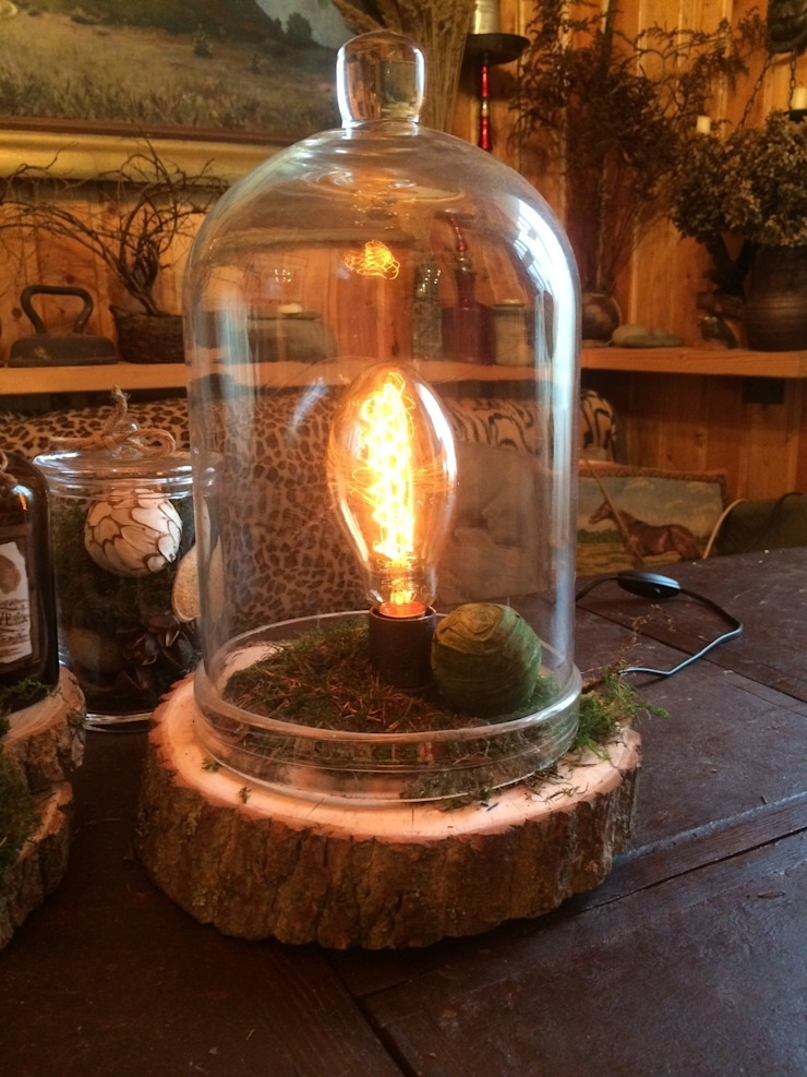 "Настольная лампа ""Botanical Medium"" от Eco Shining Home Кантри"