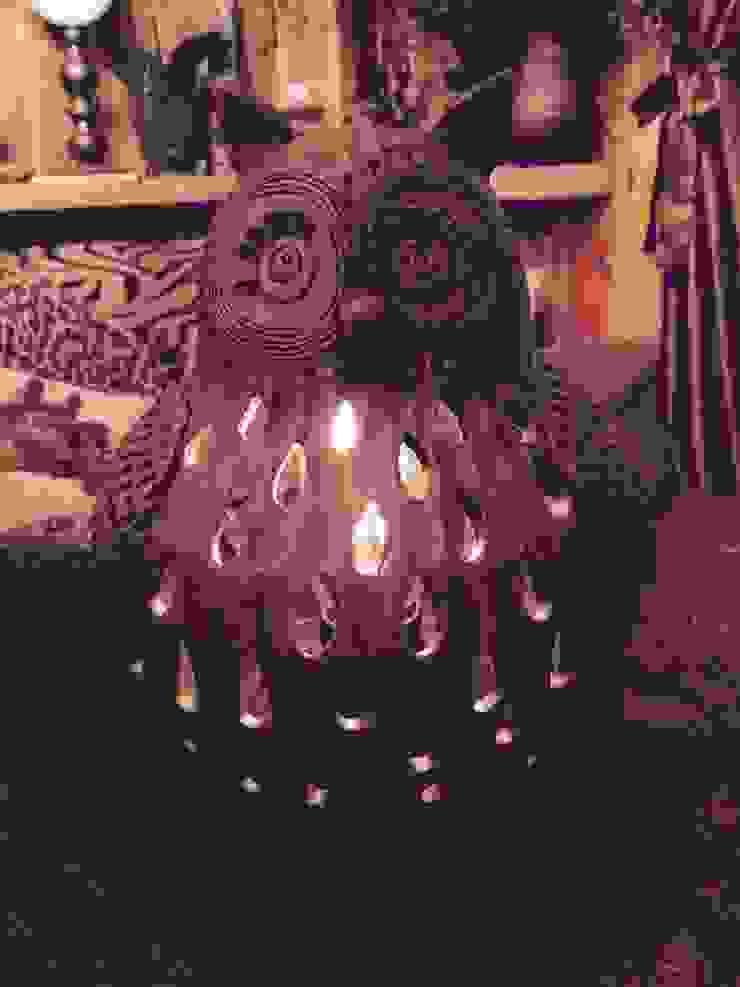 "Настольная лампа ""Тётушка Совунья"" от Eco Shining Home Кантри"