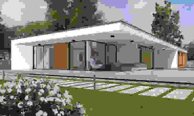 Дома в стиле минимализм от ABC Pracownia Projektowa Bożena Nosiła Минимализм