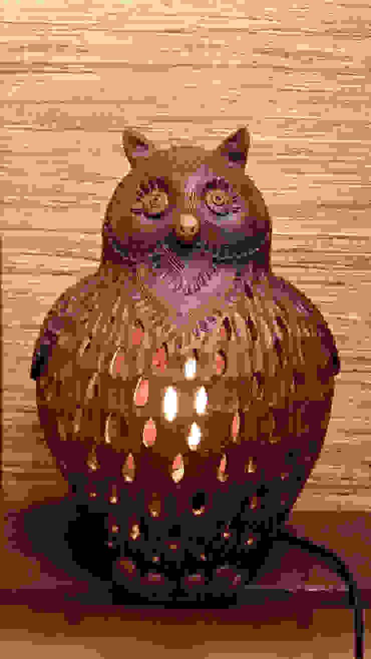 "Настольная лампа ""Тётушка Совунья Maxi"" от Eco Shining Home Кантри"