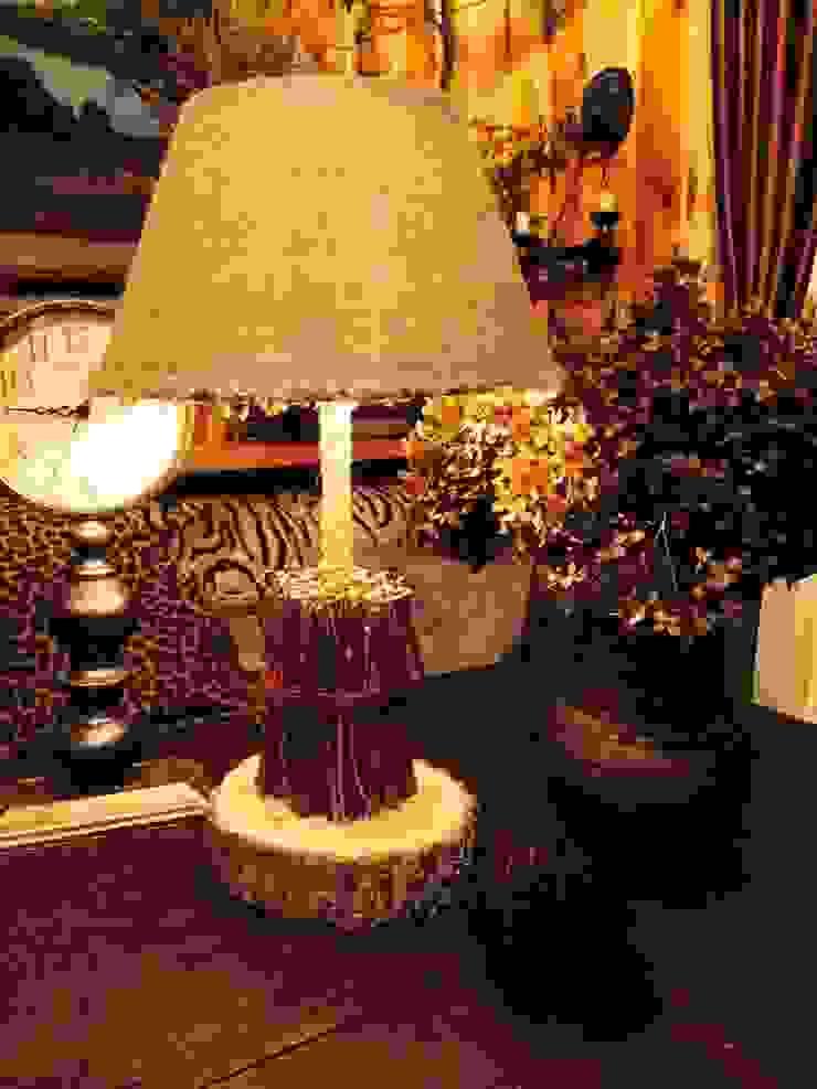 """Настольная лампа """"Лесной хворост"""" от Eco Shining Home Кантри"""