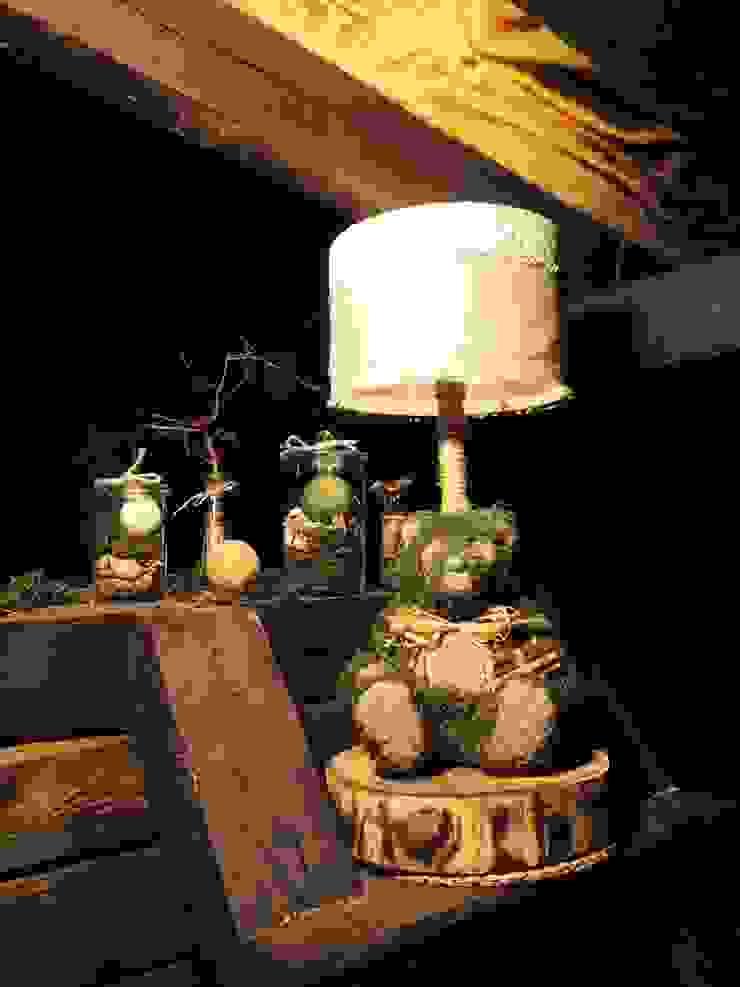 "Настольная лампа ""Лесное чудо"" от Eco Shining Home Кантри"