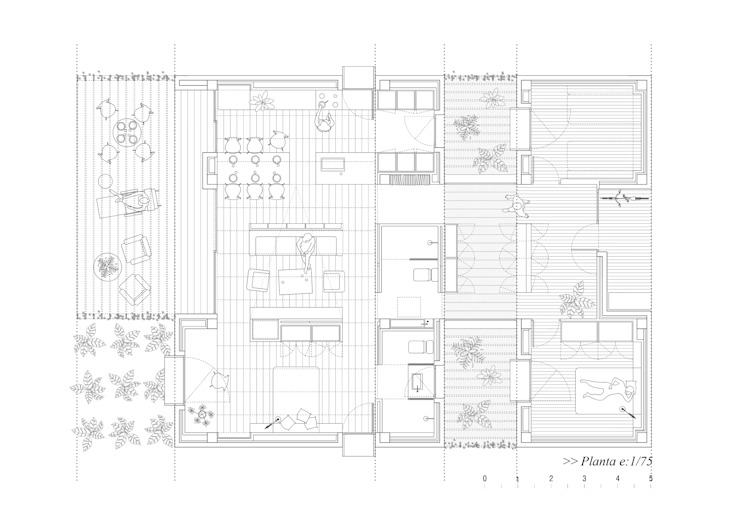 modern  by NUA Arquitectures, Modern