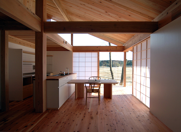 松原正明建築設計室 Asian style dining room