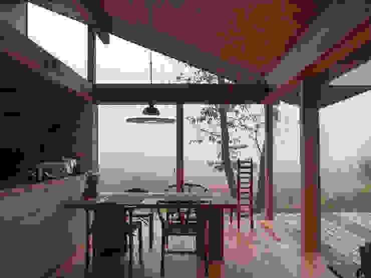松原正明建築設計室 Modern dining room