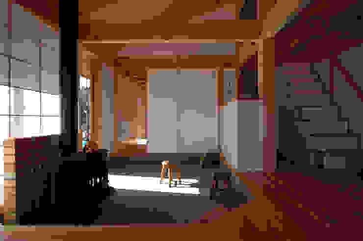 松原正明建築設計室 Modern style media rooms