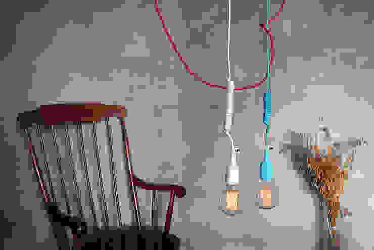 Lampa sufitowe od imindesign w wersji z trzema przewodami od IMIN Nowoczesny