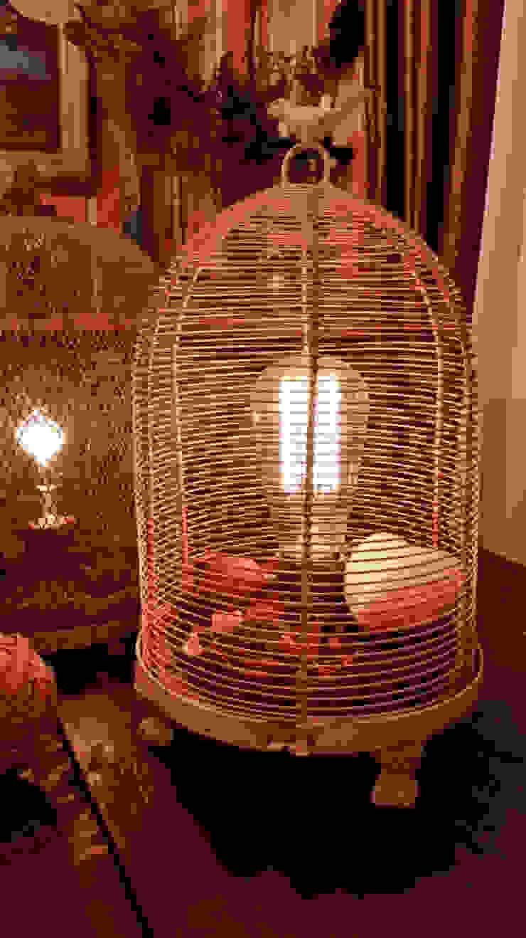 "Настольная лампа ""Тайны прованса"" от Eco Shining Home Лофт"