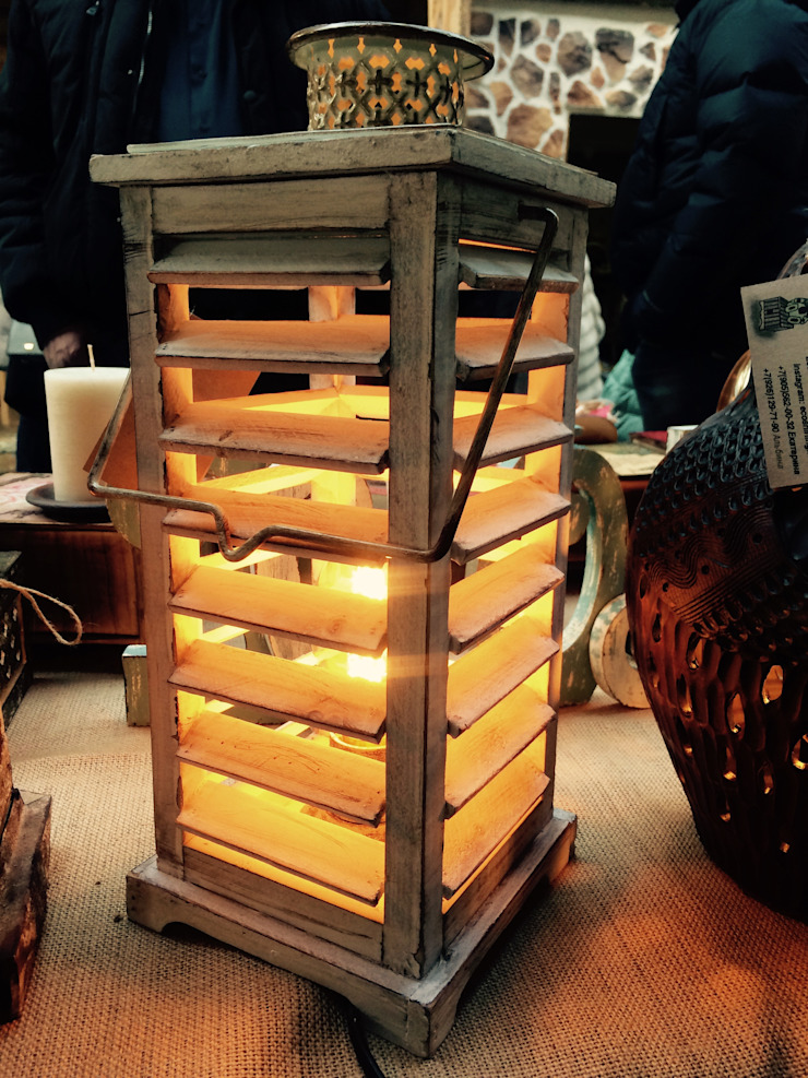 "Настольная лампа ""Сакура"" от Eco Shining Home Кантри"