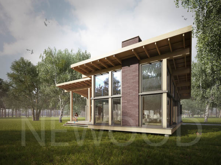 NEWOOD - Современные деревянные дома Будинки
