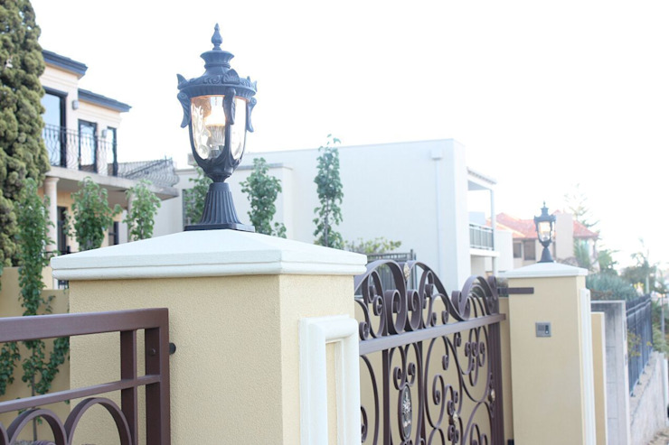 Pedestal lights are a great way to add additional light to your Gateway by Shine Lighting Ltd Classic