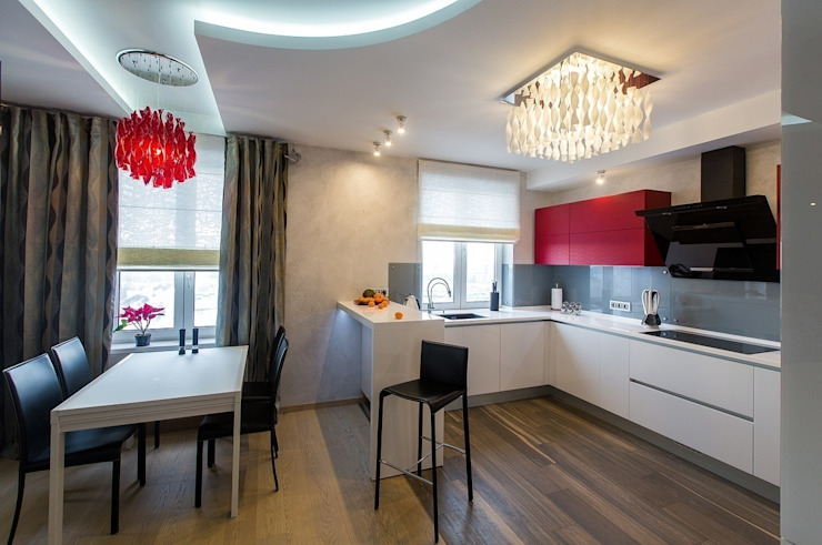 Студия интерьерного декора PROSTRANSTVO U Minimalist kitchen