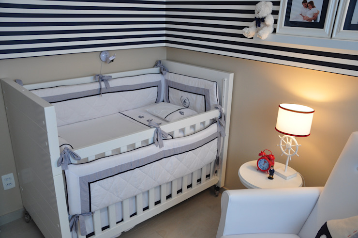 Dormitorios infantiles modernos de Juliana Farias Arquitetura Moderno