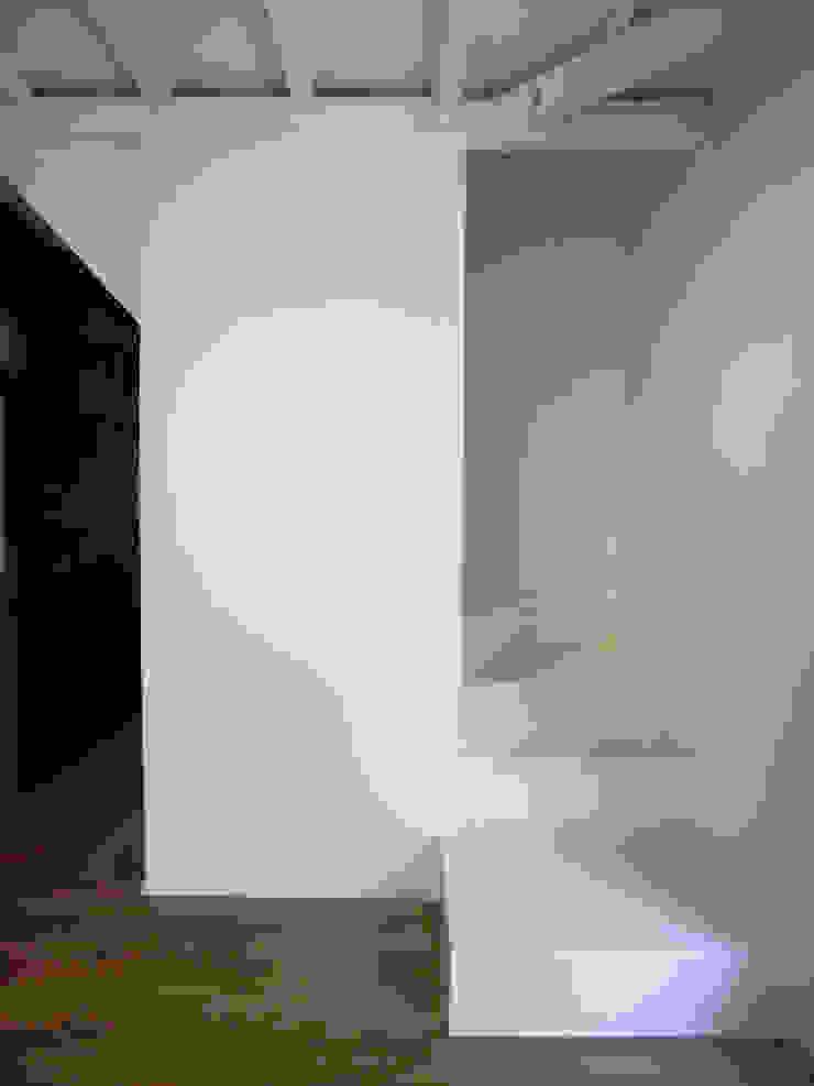 Pasillos, vestíbulos y escaleras eclécticos de vibe design inc. Ecléctico
