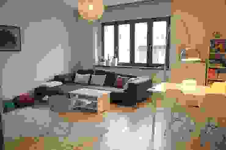 Mieszkanie z duszą Perfect Home Skandynawski salon
