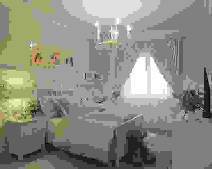 Квартира на ул. Мосфильмовская: Детские комнаты в . Автор – Tina Gurevich,