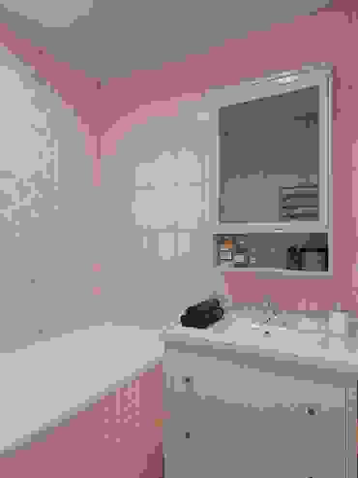 Квартира на ул. Краснобогатырская Ванная комната в эклектичном стиле от Tina Gurevich Эклектичный