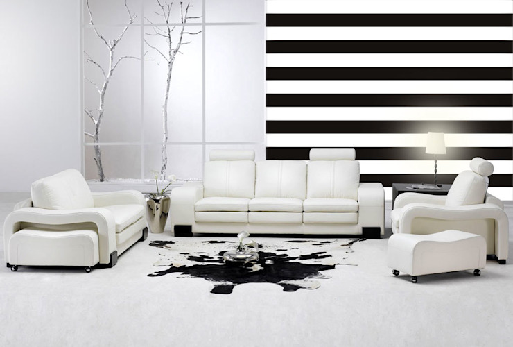Paredes e pisos modernos por Dekoori Moderno