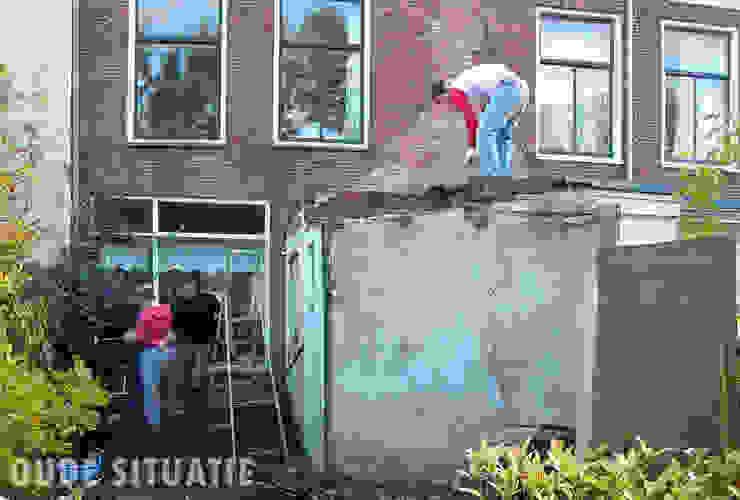 Bestaande situatie voor de verbouwing Moderne huizen van Lab-S Modern