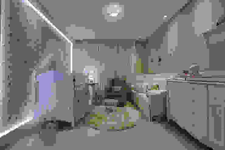 Quarto Bebê Quarto infantil moderno por Arina Araujo Arquitetura e Interiores Moderno