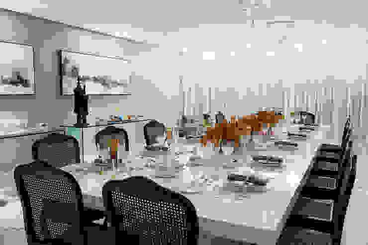 Sala de Jantar Salas de jantar modernas por Arina Araujo Arquitetura e Interiores Moderno